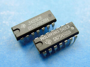 Details about 10x SN75450BN, Dual Peripheral Driver, Texas Instruments  75450 IC