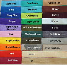"""Luggage/Equipment Tag, Double Sided, Personalized, Embroidered,  Color Choice 1"""""""