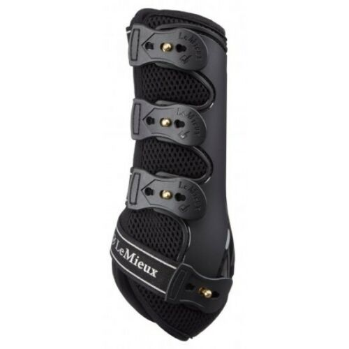 LeMieux ProSport Snug Boots, Ideal for SchoolingJumping, Black,All Sizes