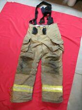 Lion Janesville 38l Firefighter Turnout Bunker Gear Pants Tow Suspenders