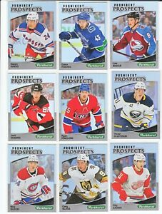 2019-20-Parkhurst-PROMINENT-PROSPECTS-Complete-25-Card-Set