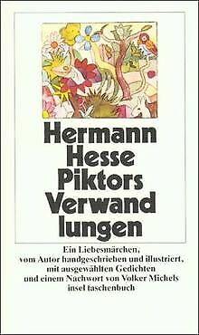Piktors Verwandlungen: Ein Liebesmärchen (insel taschenb... | Buch | Zustand gut
