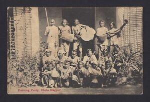 Dancing Party Chota Nagpur vintage postcard