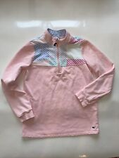 Vineyard Vines Target Girls Pink Pullover Sweatshirt Patchwork Size S 6//6x NEW