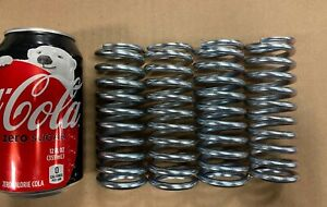 """.187"""" Wire Heavy Duty Compression Spring Lot Of 4"""
