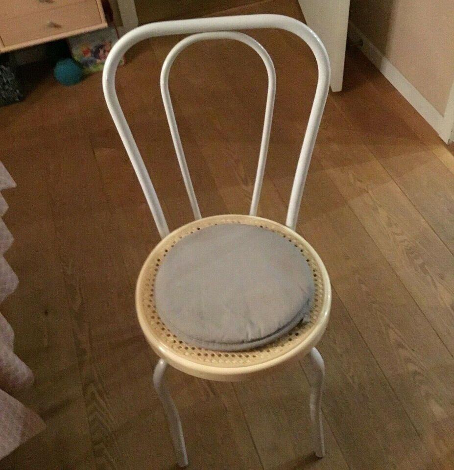 Spisebordsstol, Metal og plastick, Ukendt