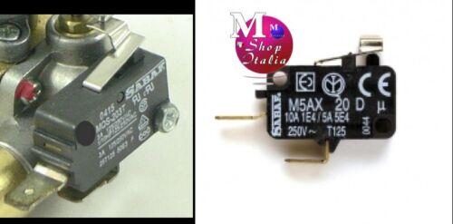 Microinterruttore rubinetto gas piano cottura SABAF M5AX 20 Foster