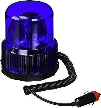 12 V azul luz de advertencia de emergencia Faro Giratorio Auto Coche Señal de advertencia