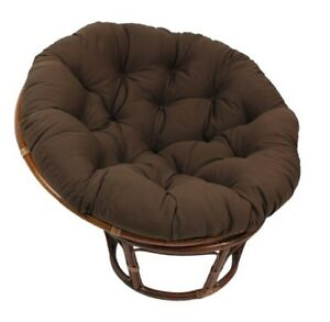 Image Is Loading Saucer Chair Cushion Papasan Chairs Saucers Comfortable  Cushions