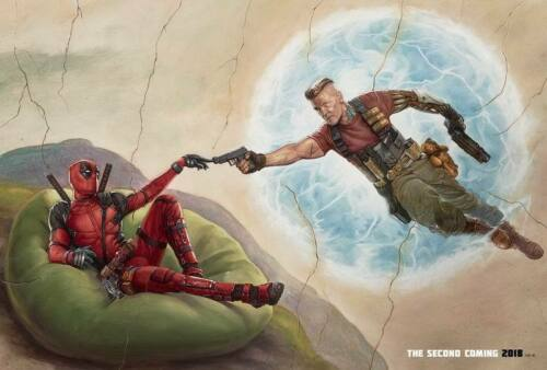 """17504 Hot Movie TV Shows Deadpool 2 3 20/""""x14/"""" Poster"""