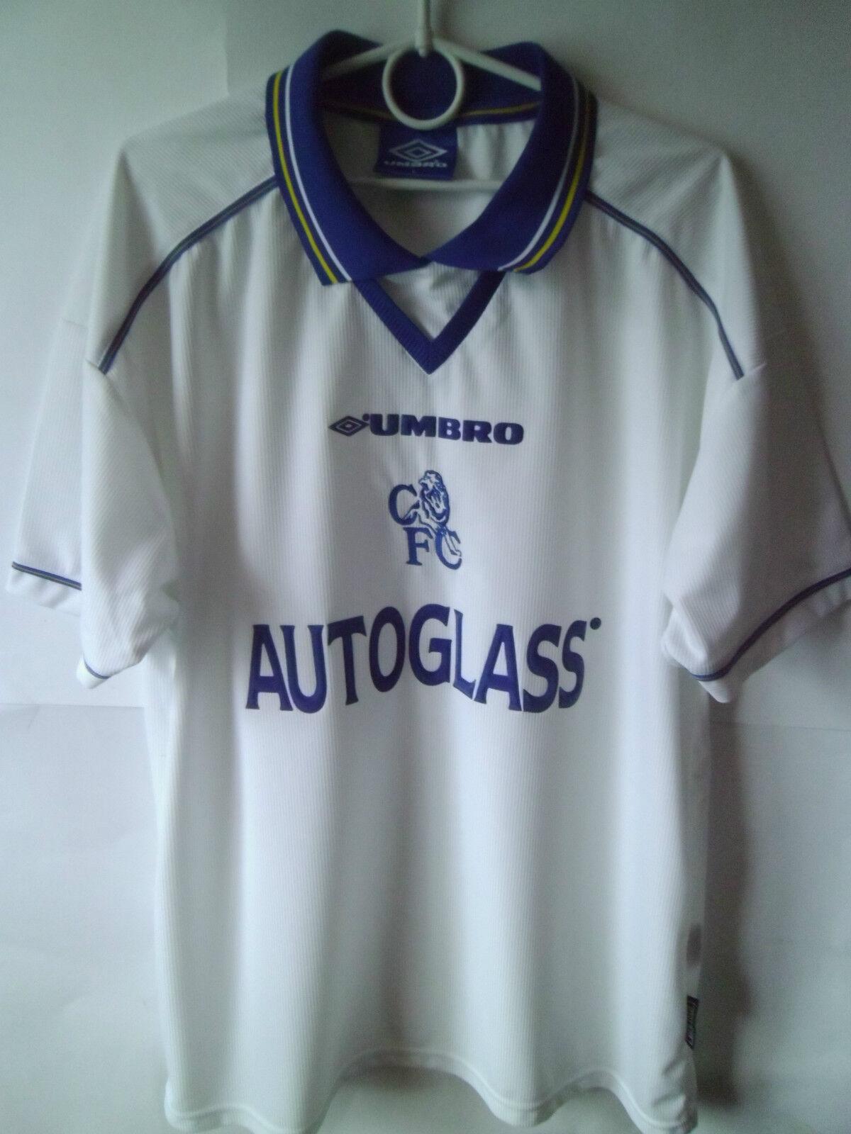 1998-00 Chelsea Away Shirt Jersey Trikot L
