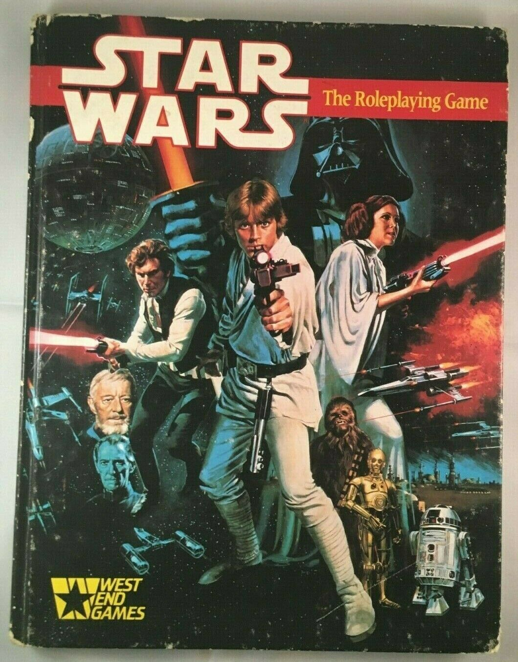 Lot of 4 Star Wars The Role Playing Game books & Module WEG