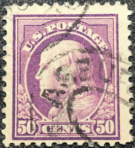 Scott-517-US-1917-50c-Ben-Franklin-Postage-Stamp-Perf-11-NH
