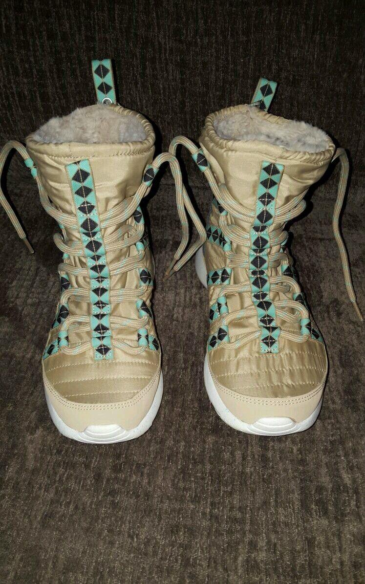 21b698b6a754 ... Women s Nike Roshe Roshe Roshe One Hi Sneakerboot Size 5.5 Beige Style  172183