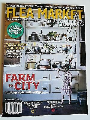 Flea Market Style Country Decorating Ideas Magazine Spring Summer 2014 Yard  for sale online | eBay