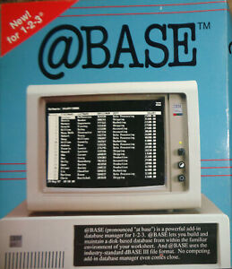 Base-by-Personics-Version-1-1-1987-For-Lotus-1-2-3-IBM-PC-and-compatibles