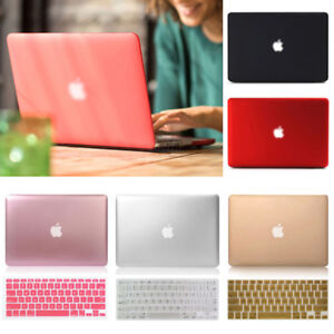 Rubberized-Metallic-Painting-Hard-Case-KB-For-Macbook-Pro-Air-11-13-034-15-034-Retina