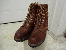 VINTAGE IRISH SETTER RED WING BOOTS MADE IN USA GOOD COND NOT MUCH USED 11 D