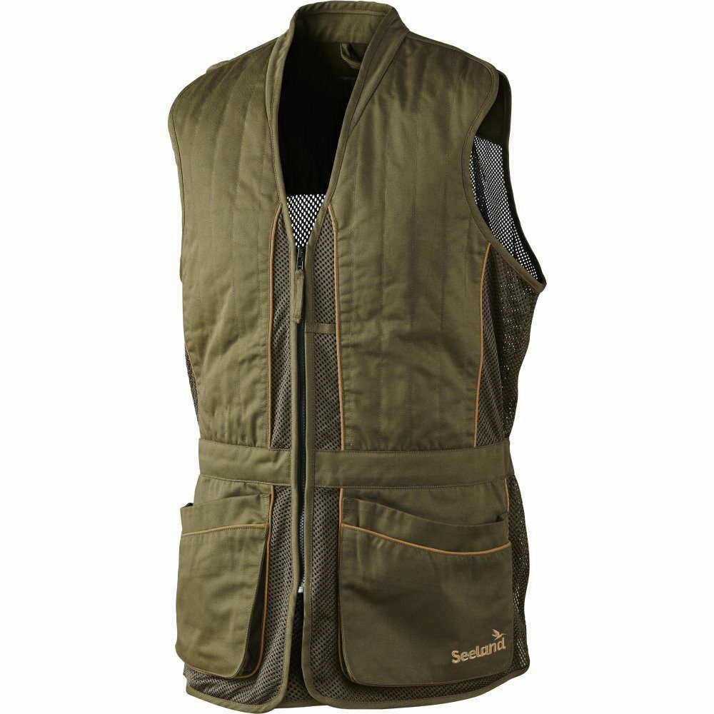 Seeland Skeet Waistcoat Shooting Vest In Green 12 02 064 27