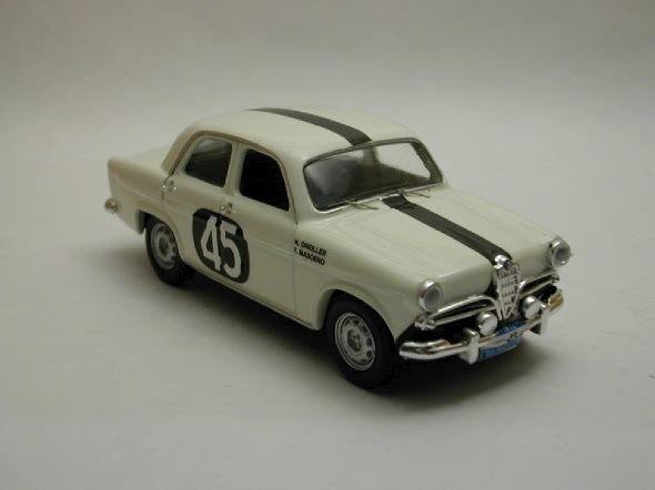 Alfa romeo giulietta ti   45 tour frankreich kopfkissen der masoero 1 43 rio4150 rio - 1959