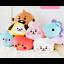miniature 1 - FAST 40CM Cute Bangtan Boys BTS BT21 Creeping Plush Pillow Stuffed Toy Kpop Gift