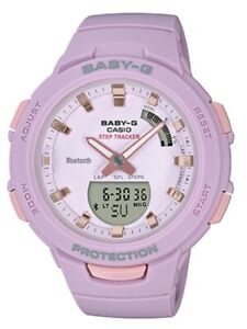 Casio-Baby-G-BSA-B100-4A2-G-SQUAD-Step-Tracker-Bluetooth-Lavender-Watch