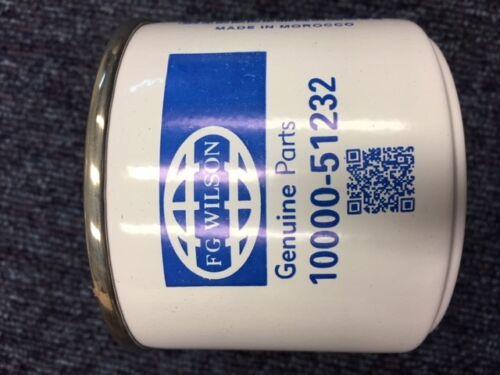 Elemento Filtro De Combustible Original Fg Wilson 10000-51232 901-202