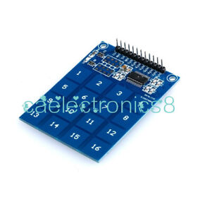 NEW Arduino TTP229 16 Channel Digital Capacitive Switch Touch Sensor Module