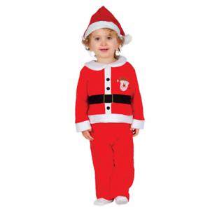 f371fb0b2375b Bébé   Tout-Petit Costume Père Noël Enfants Papa Noel Déguisement