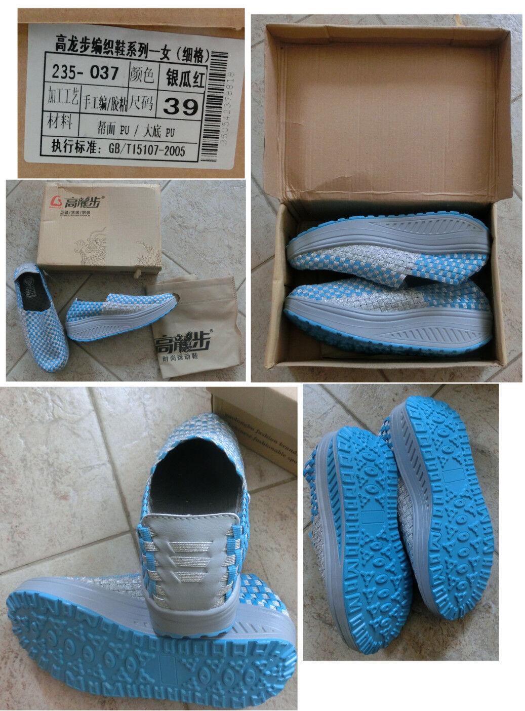 ROLLING SOFT Atmungsaktive Sneakers Gr. 39 ROLLING SOFT schuhe Federleicht blau