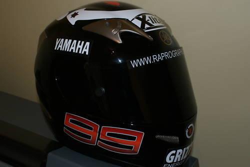 Jorge Lorenzo 99 Helmet Decals pair