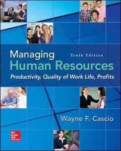 Managing human resources by wayne f cascio 2015 hardcover ebay stock photo fandeluxe Gallery