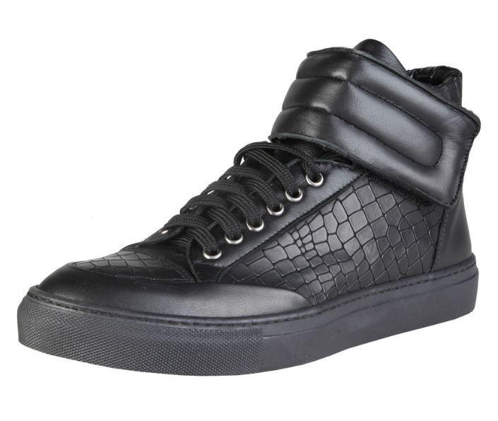 [NEU] Versace V1969 NORBERT schwarz Echtleder Hi Größen Top High Sneaker alle Größen Hi a47e81