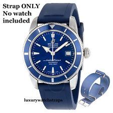 Excelente Azul OTAN ® Correa para BREITLING Superocean Heritage & Steelfish 42 20mm