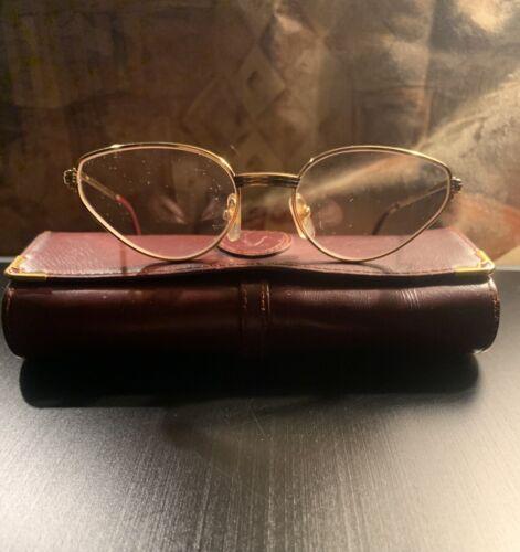 Cartier Rivoli Lunettes Eyeglasses Vintage 100% Au