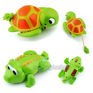 Wind Up Swimming Animal Pool Toys Turtle Crocodile for Baby Children Kids Bath