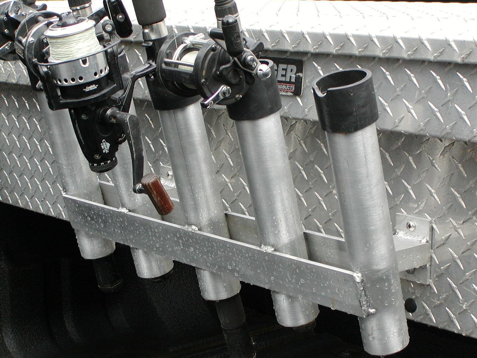 5 Varilla Poste  Soporte de Pesca camión caja hecho en EE. UU.   Vuelta de 10 dias