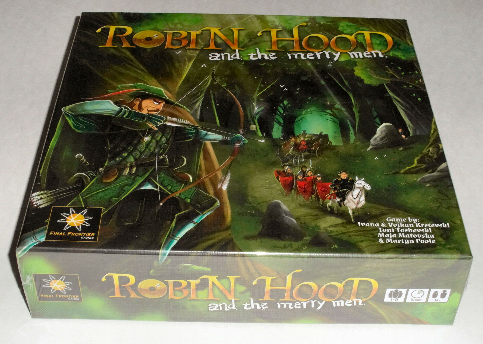Robin Hood e i Merry Men (Deluxe Kickestrellater edizione) Monete mettuttiiche - 2018