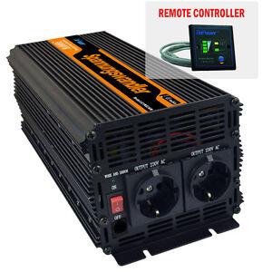 Inversor convertidor corriente continua 3000w 6000w dc 12v - Inversor de corriente ...