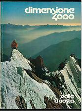 MELLANO ANDREA VALLE D'AOSTA DIMENSIONE 4000 BUNNER & CO. 1978 MONTAGNA