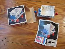 LEGO Eisenbahn alt 4,5V / 12V  Set 125 BDA OVP
