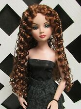 "DOLL Wig, Monique ""Christine"" Size 6/7 in Golden Auburn fits Ellowyne"