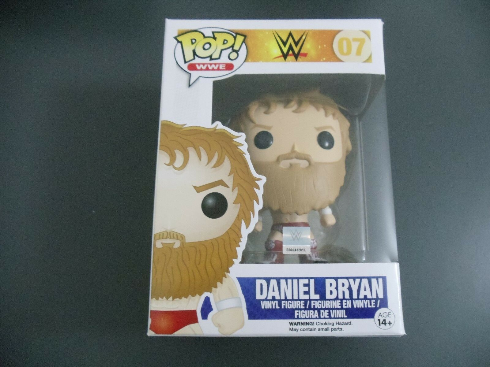 FUNKO POP DANIEL BRYAN HOT TOPIC RED OUTFIT EXCLUSIVE