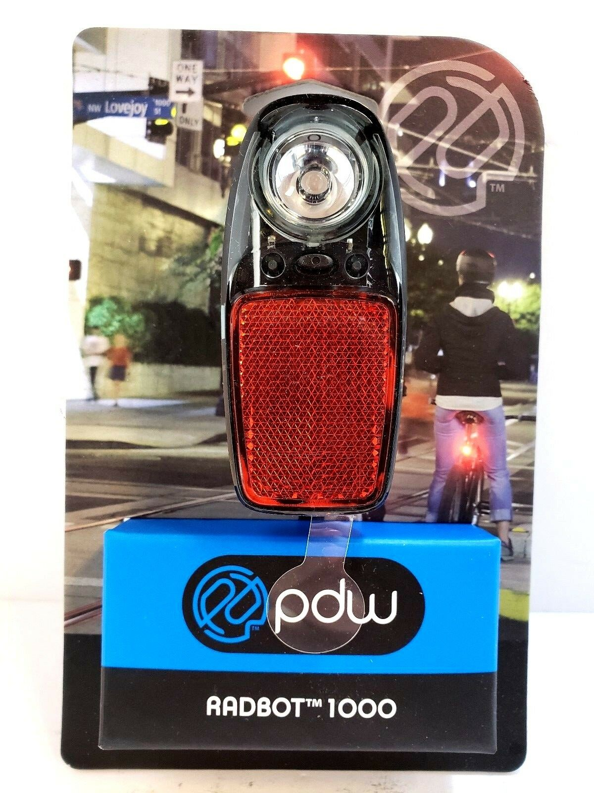 Portland Design Works Radbot 1000 Taillight    1-Watt LED for Bicycles Bikes  online fashion shopping