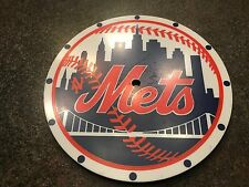 VINTAGE 1970's NEW YORK METS Westclox Lolli-clock Lollypop Face/Dial Baseball