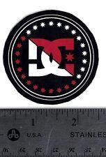 DC SHOES DECAL DC Skateboard Snowboard Moto Round Sticker