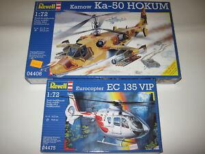 EUROCOPTER-EC-135-VIP-KAMOW-KA-50-HOKUM-REVELL-1-72