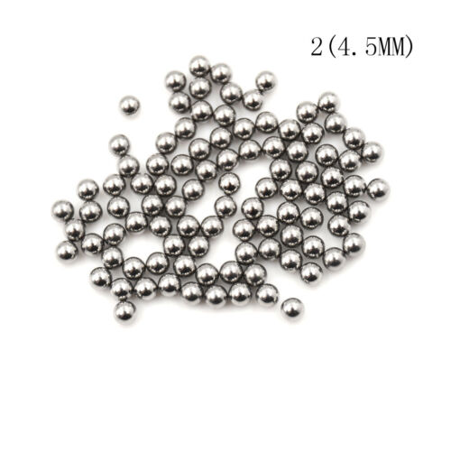 100pcs Bicycle Replacement Silver Tone Steel Bearing Ball  4//4.5//5//5.5MM BC YR