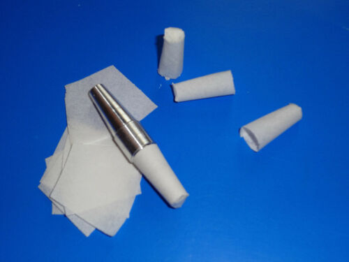 """Formes prédécoupées .44/"""" pour étuis en papier flash nitré hypercombustible 1.43g"""