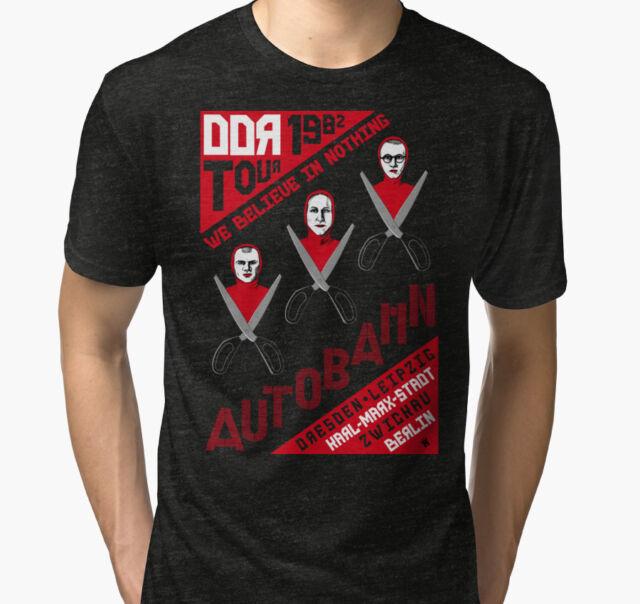 Autobahn 1982 East German Tour Men/'s T-Shirt